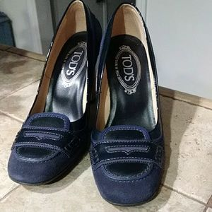 Tod's loafer heels